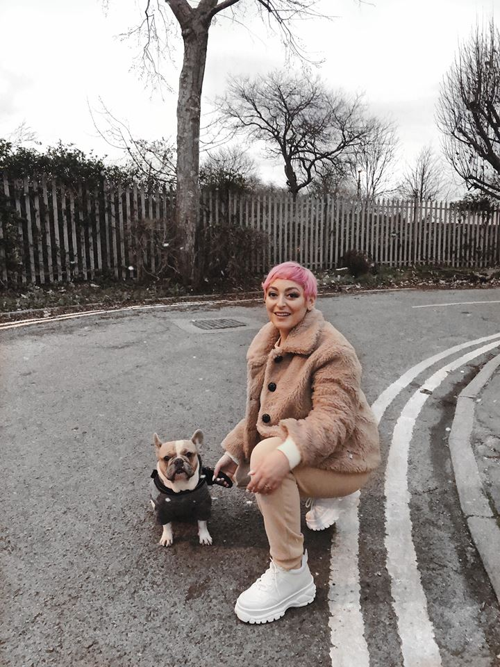 Me and My Bugsy in our New Years Day Outfits